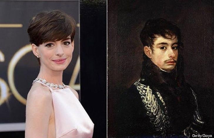 tweedledum14 Поразительное сходство голливудских знаменитостей и их исторических двойников