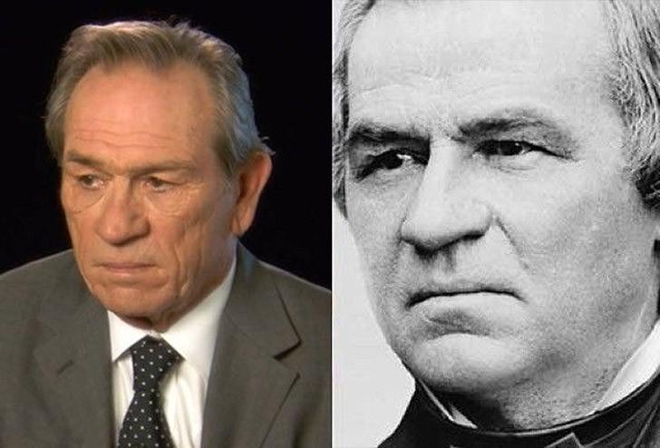 tweedledum22 Поразительное сходство голливудских знаменитостей и их исторических двойников