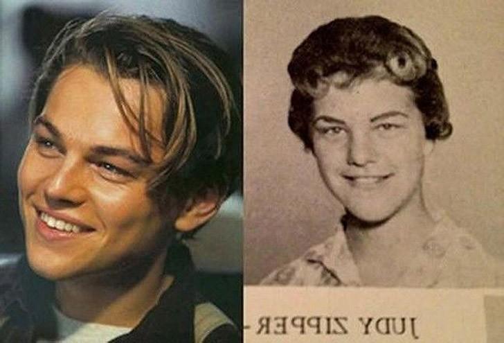 tweedledum24 Поразительное сходство голливудских знаменитостей и их исторических двойников