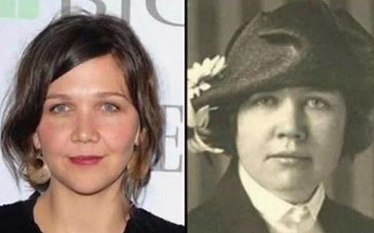 tweedledum30 Поразительное сходство голливудских знаменитостей и их исторических двойников