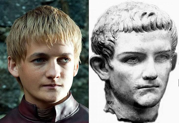 tweedledum34 Поразительное сходство голливудских знаменитостей и их исторических двойников