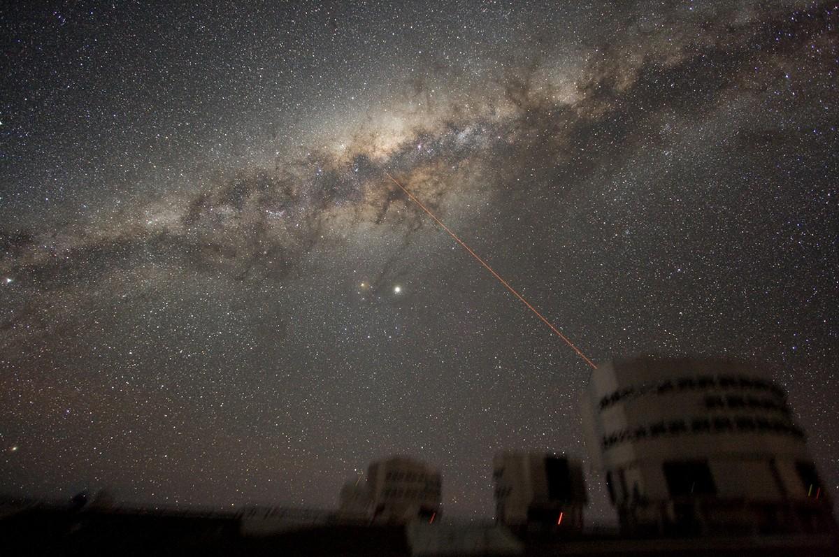 vialactea01 Млечный Путь. Марш звёзд в космосе