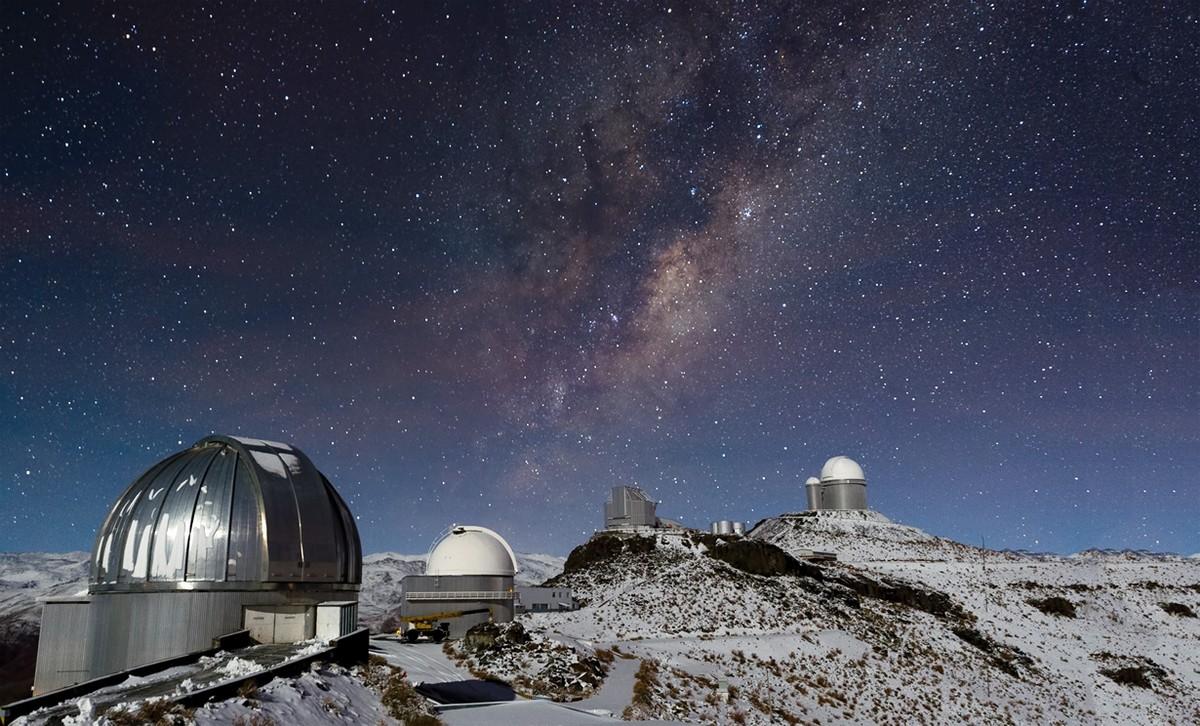 vialactea06 Млечный Путь. Марш звёзд в космосе