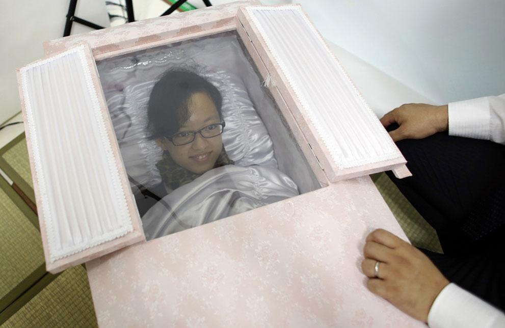 123 Новая мода в Японии: организация похорон при жизни