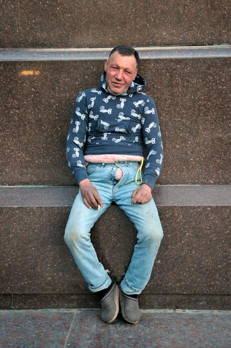 161 Славик самый модный бомж Украины
