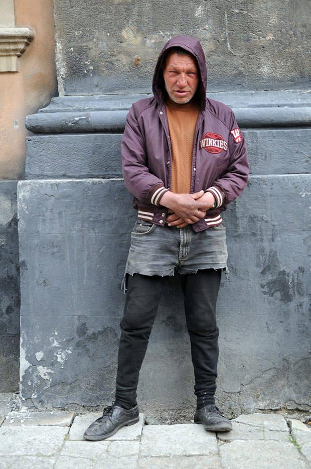 34 Славик самый модный бомж Украины