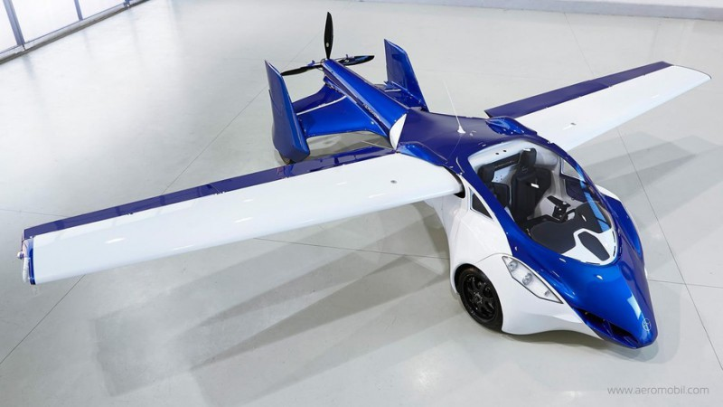 Ключ поверни и полетели: летающий автомобиль AeroMobil 3.0