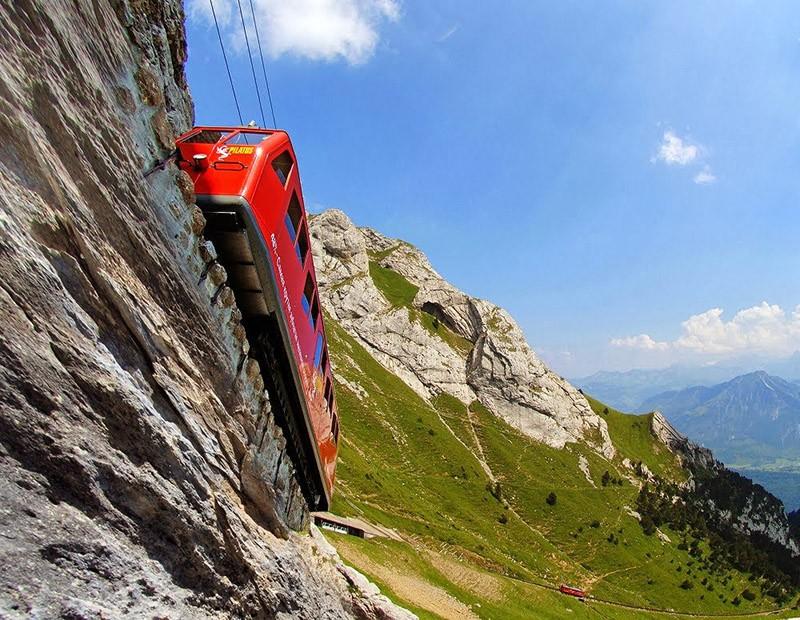 Chbahns48 Топ 5 самых необычных железных дорог Швейцарии