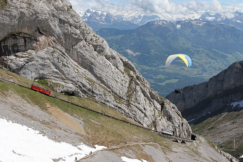 Chbahns50 Топ 5 самых необычных железных дорог Швейцарии