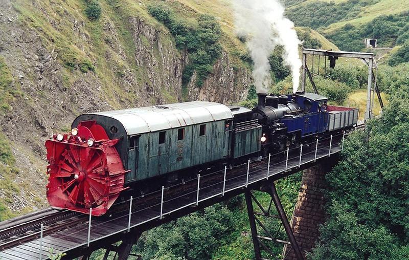 Chbahns54 Топ 5 самых необычных железных дорог Швейцарии