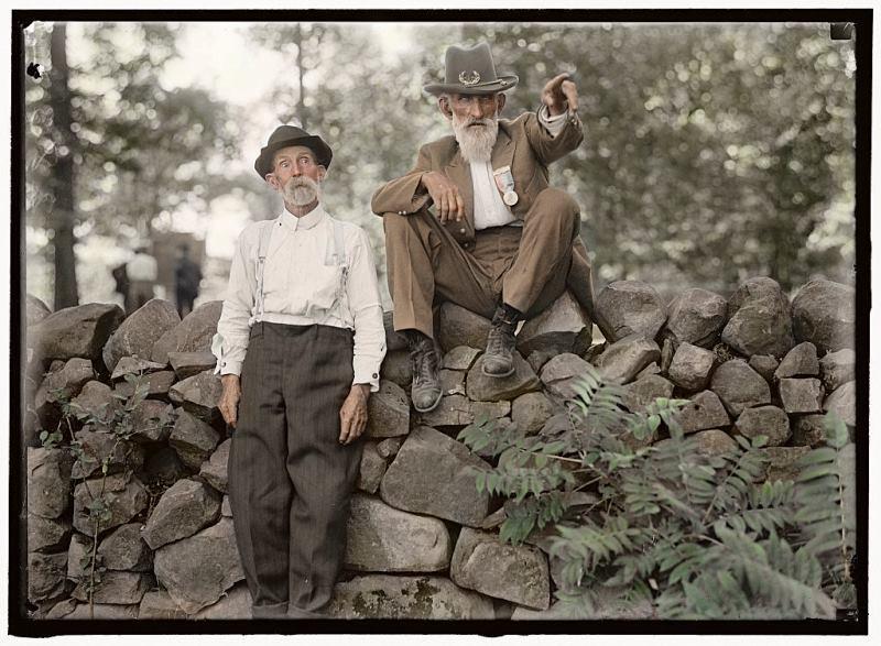 Coloredhistory12 34 удивительных примера колорирования старых архивных фото