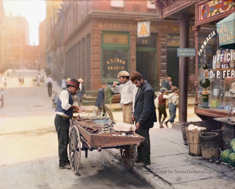 Coloredhistory16 34 удивительных примера колорирования старых архивных фото