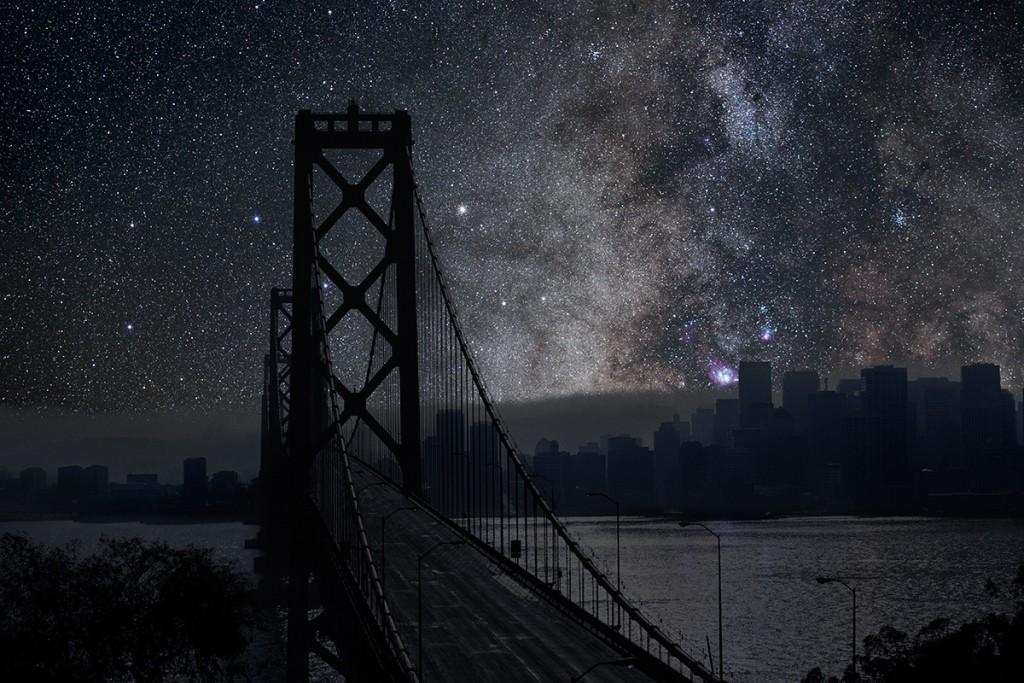 DarkenedCities02 Города, освещенные только звездами