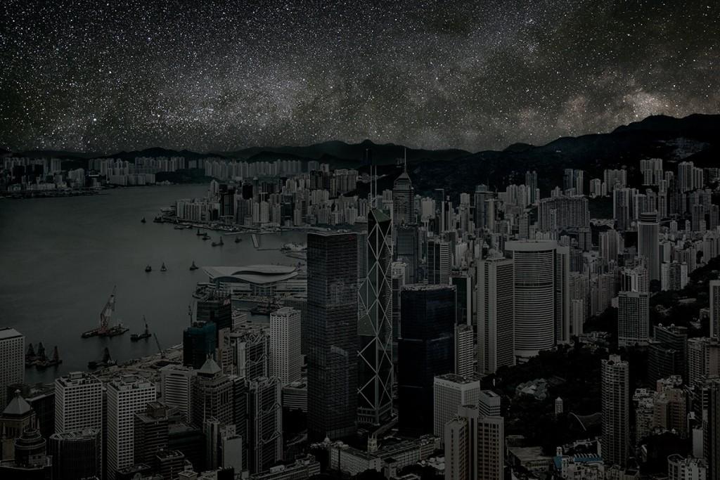 DarkenedCities03 Города, освещенные только звездами