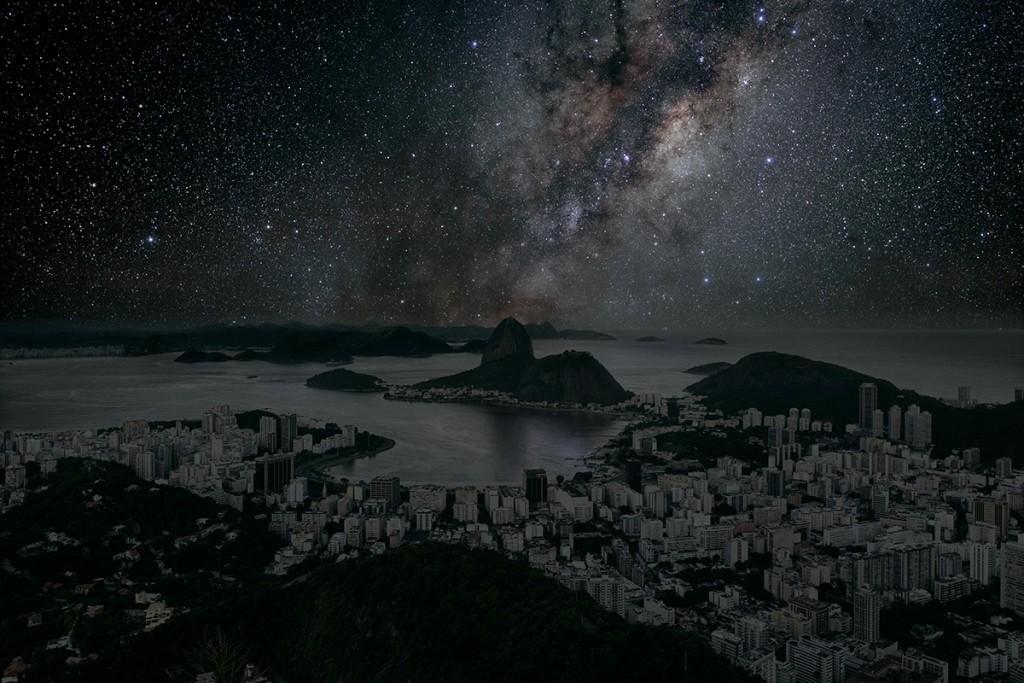 DarkenedCities04 Города, освещенные только звездами