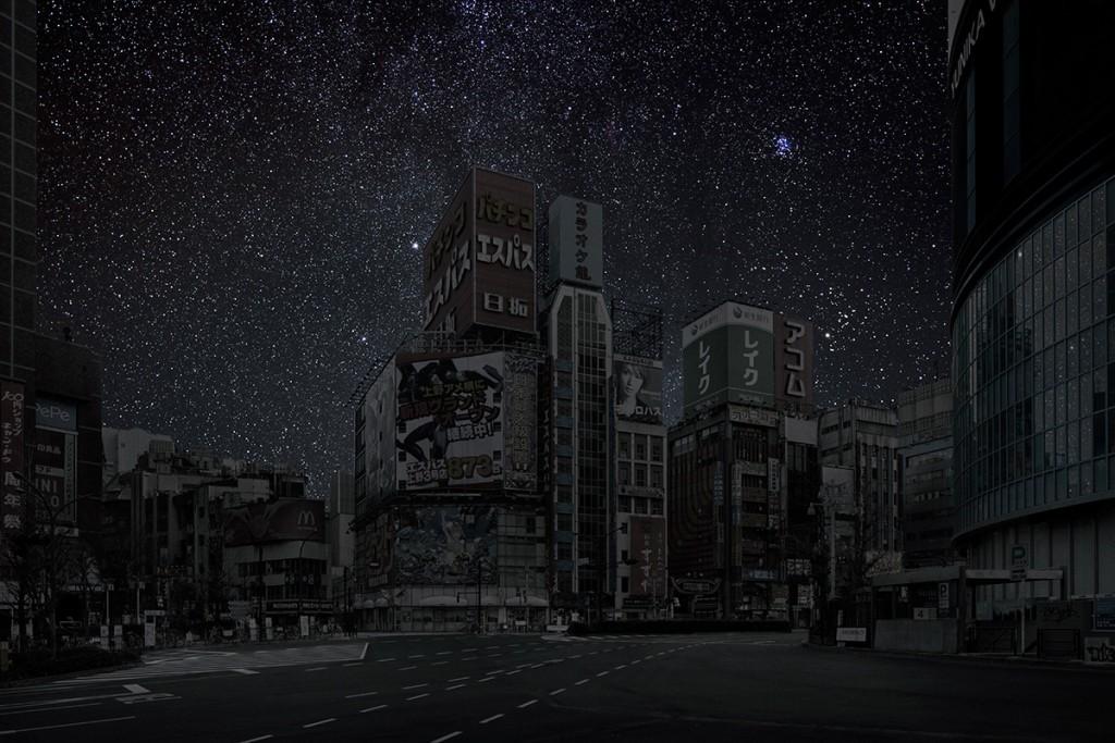 DarkenedCities05 Города, освещенные только звездами