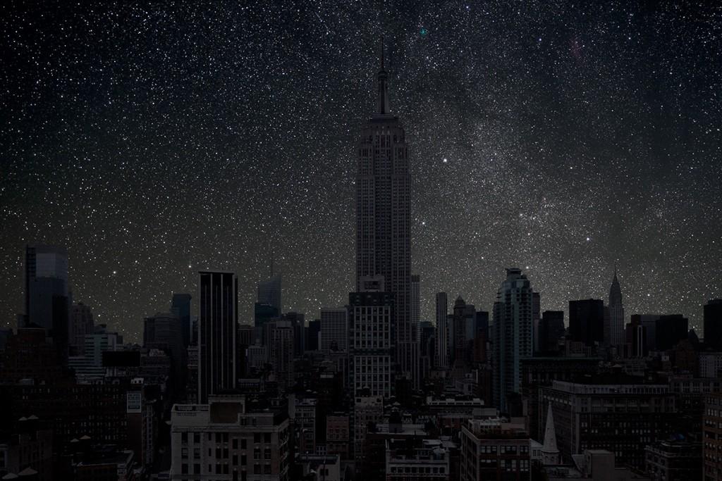 DarkenedCities06 Города, освещенные только звездами
