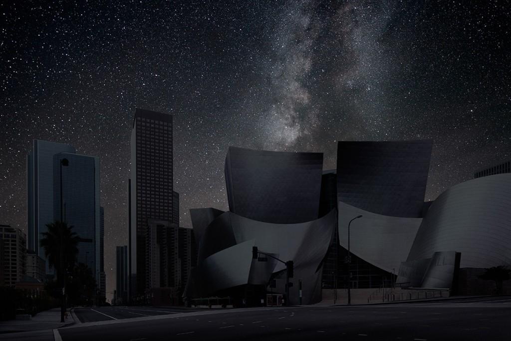 DarkenedCities07 Города, освещенные только звездами