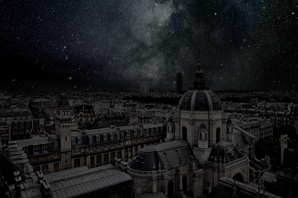 DarkenedCities09 Города, освещенные только звездами
