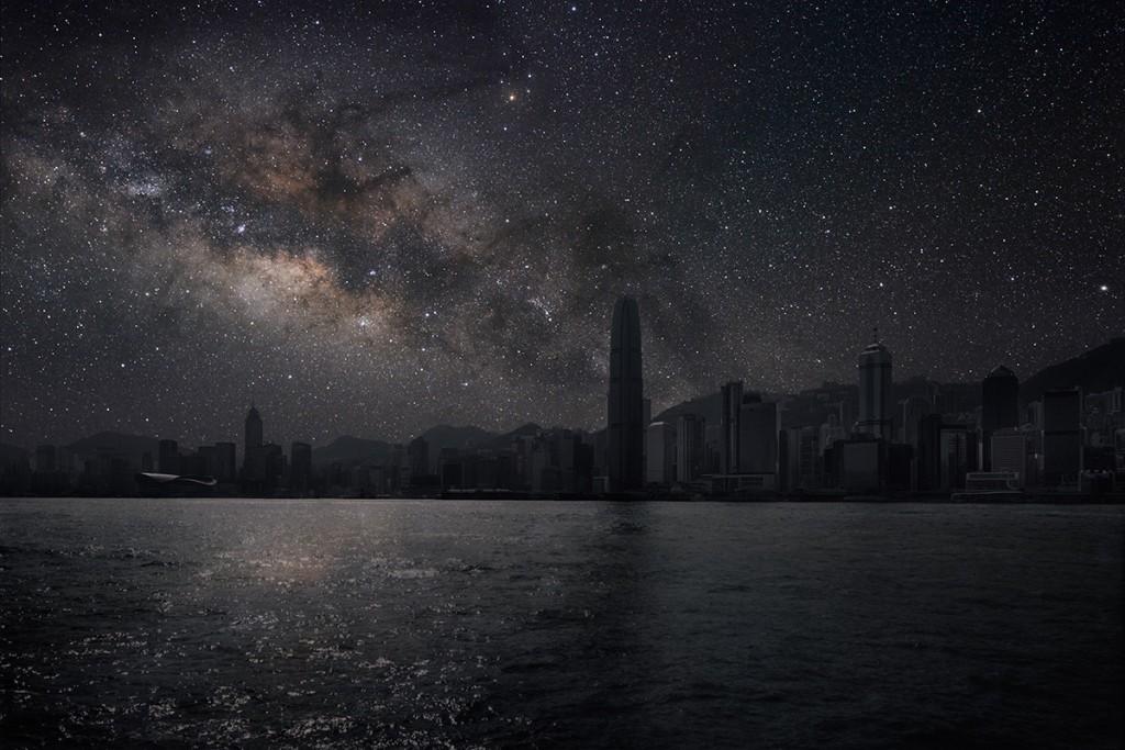 DarkenedCities10 Города, освещенные только звездами