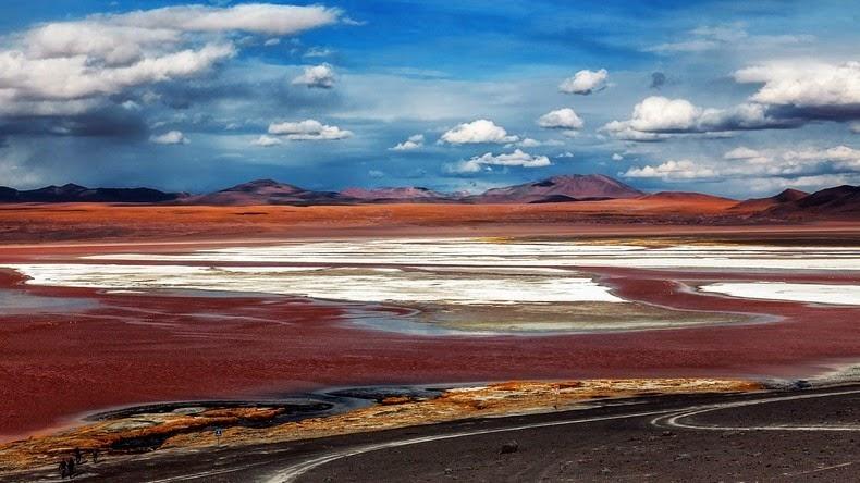 LagunaColorada03 Кровавая лагуна в Боливии