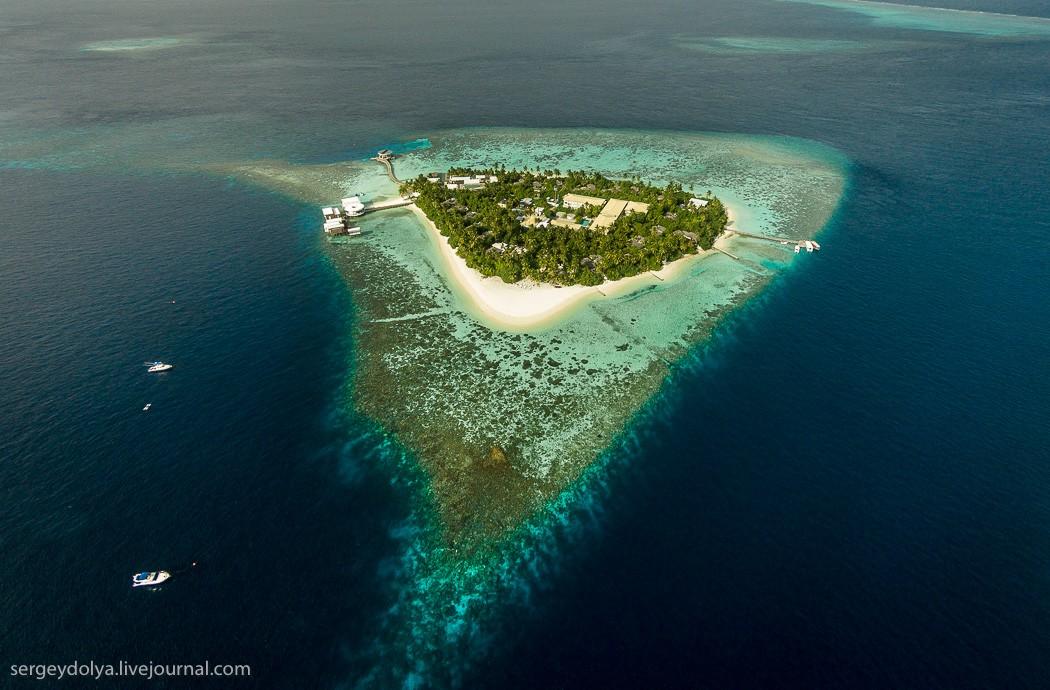 Maldives01 Мальдивы с высоты птичьего полета