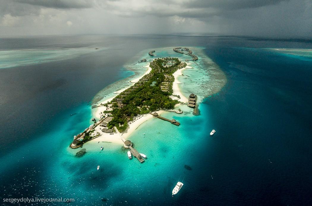 Maldives02 Мальдивы с высоты птичьего полета