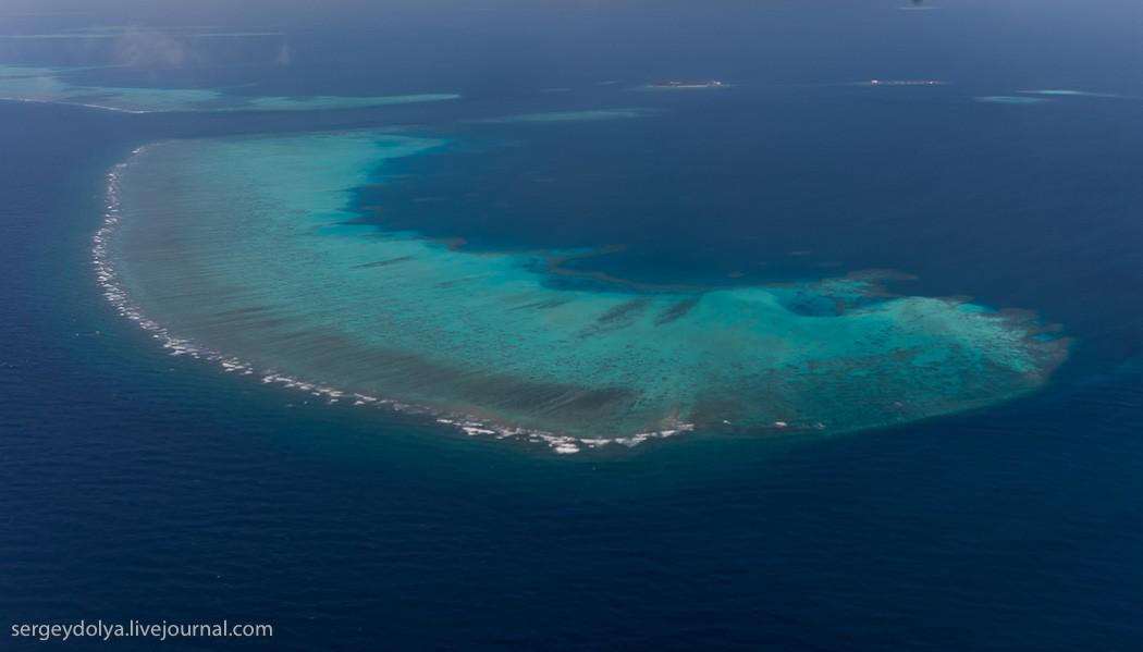 Maldives07 Мальдивы с высоты птичьего полета