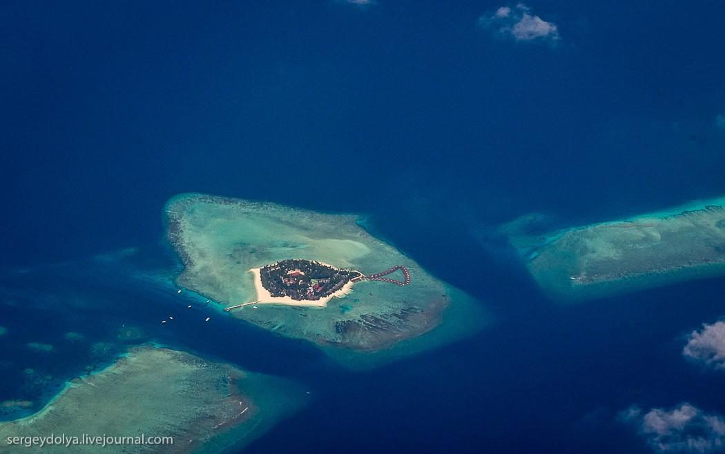 Maldives09 Мальдивы с высоты птичьего полета