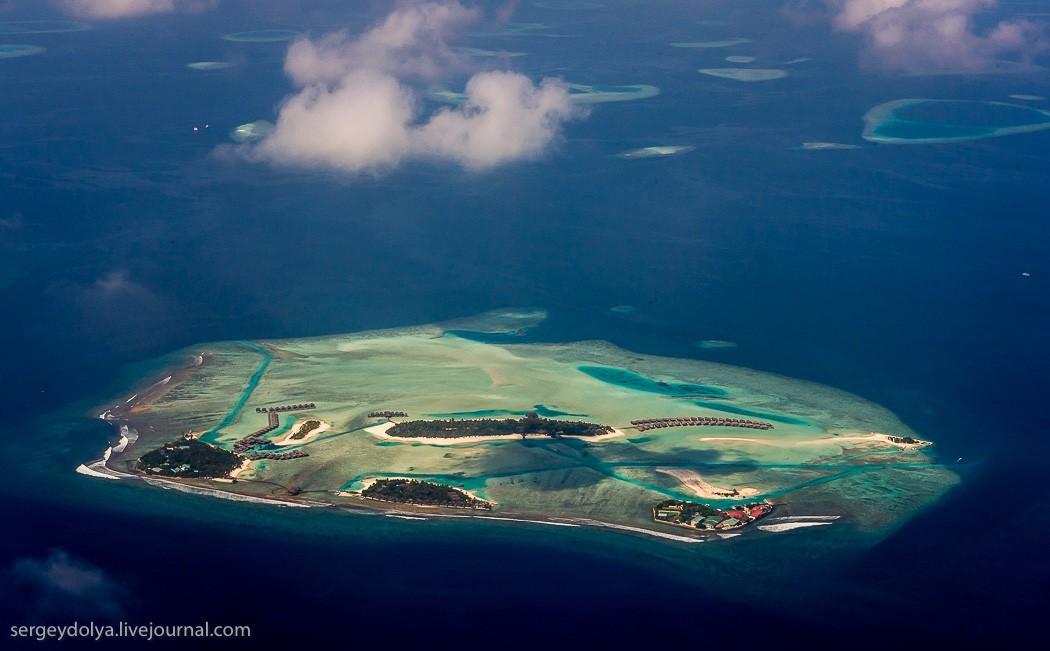 Maldives10 Мальдивы с высоты птичьего полета