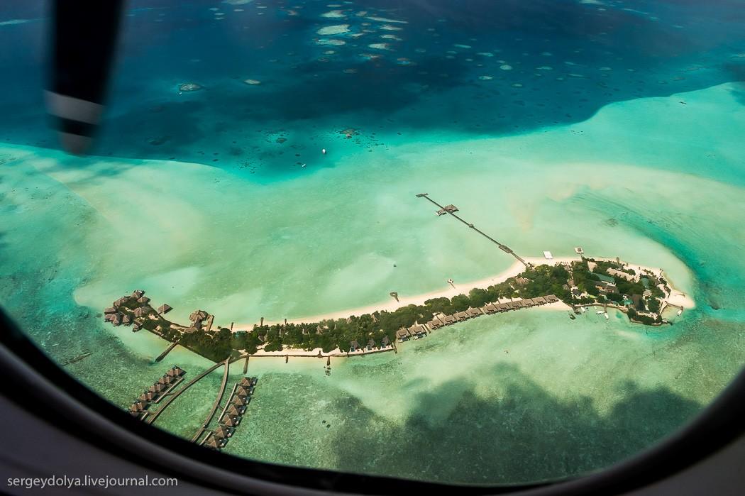 Maldives11 Мальдивы с высоты птичьего полета