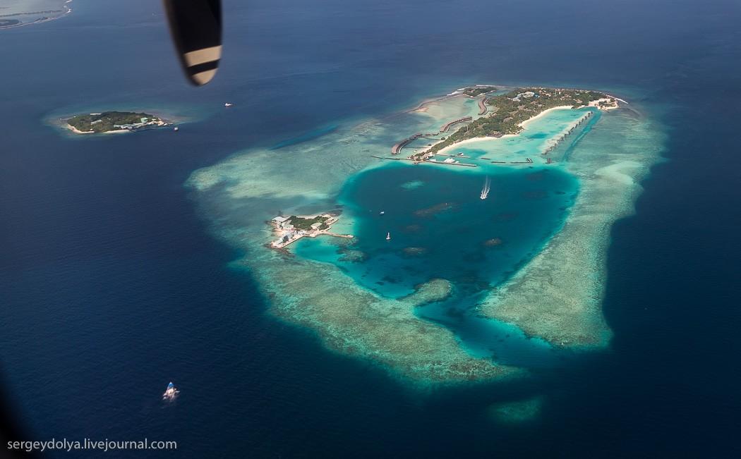 Maldives16 Мальдивы с высоты птичьего полета