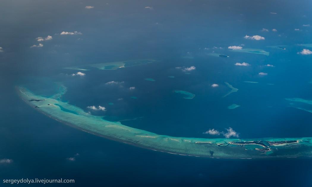 Maldives20 Мальдивы с высоты птичьего полета