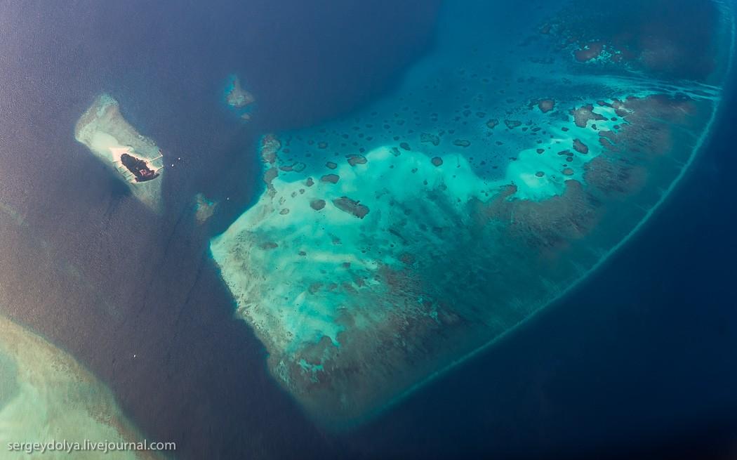 Maldives22 Мальдивы с высоты птичьего полета