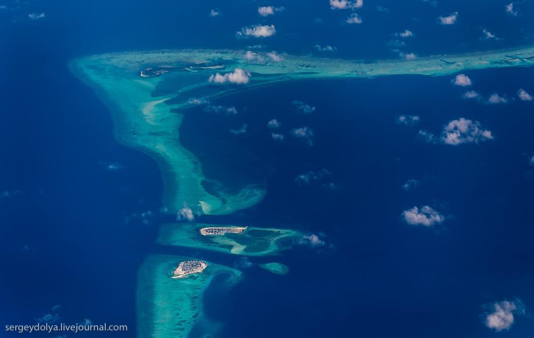 Maldives24 Мальдивы с высоты птичьего полета