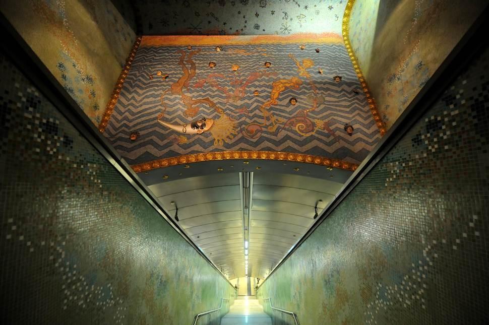 MetroStations09 17 самых волшебных станций метро со всего мира