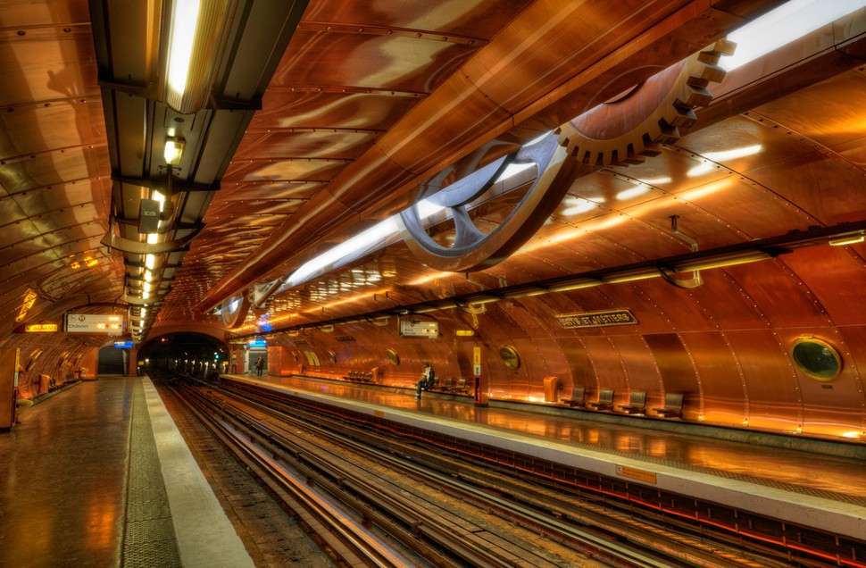 MetroStations19 17 самых волшебных станций метро со всего мира