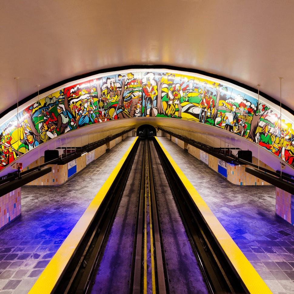 MetroStations43 17 самых волшебных станций метро со всего мира