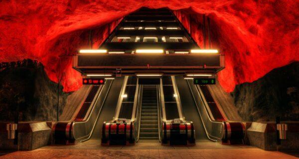 17 самых волшебных станций метро со всегомира