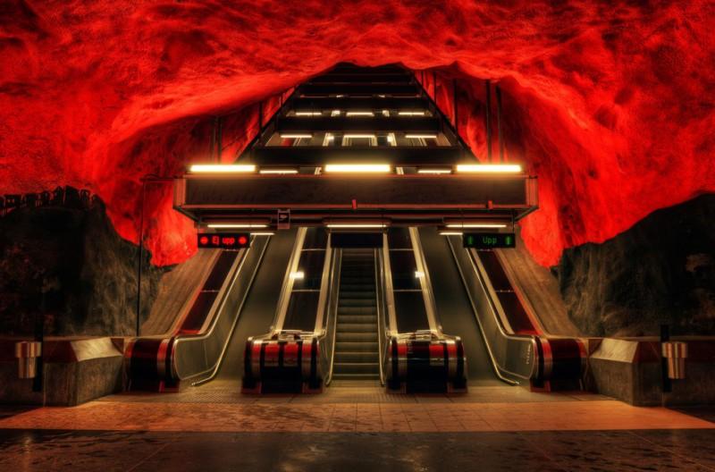 MetroStations49 800x528 17 самых волшебных станций метро со всего мира