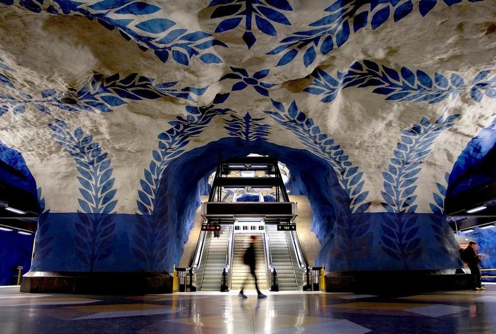 MetroStations51 17 самых волшебных станций метро со всего мира