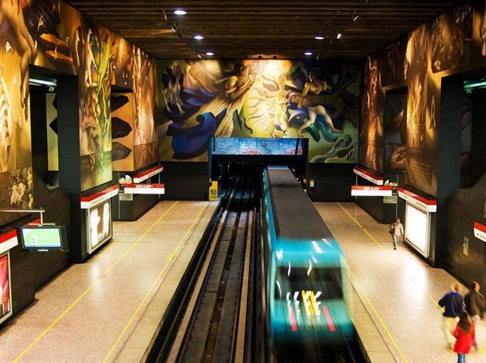 MetroStations61 17 самых волшебных станций метро со всего мира