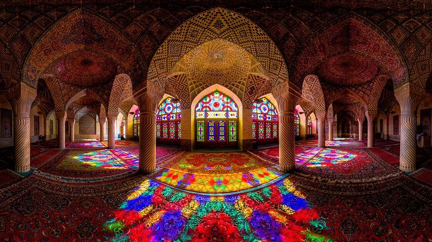 MosqueCeilings02 Чарующие и гипнотизирующие своды мечетей
