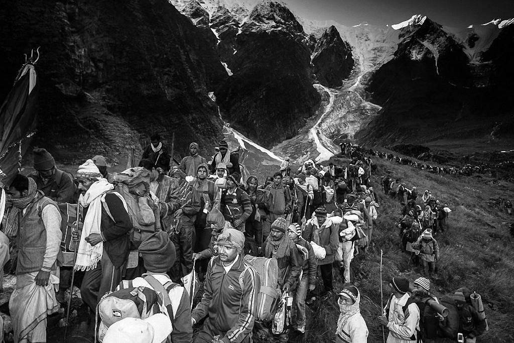 NandaDeviRajYatra01 Трудное паломничество в Гималаях