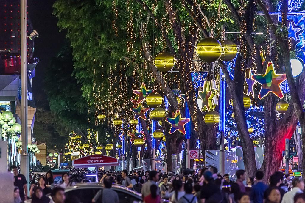 OchardRoad10 Ochard Road: Как выглядит самая известная улица Сингапура перед Рождеством и Новым годом