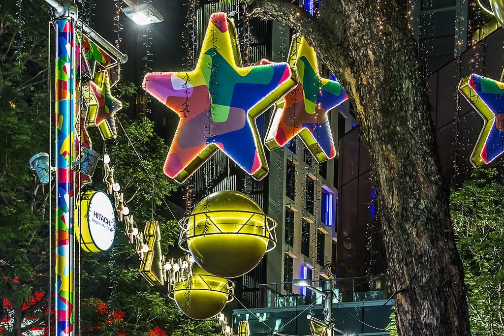 OchardRoad12 Ochard Road: Как выглядит самая известная улица Сингапура перед Рождеством и Новым годом