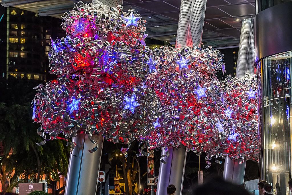 OchardRoad14 Ochard Road: Как выглядит самая известная улица Сингапура перед Рождеством и Новым годом