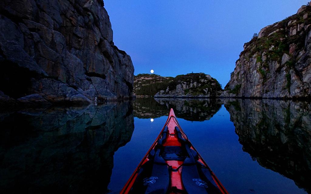 Po Norvegii na bajdarke 10 По Норвегии на байдарке