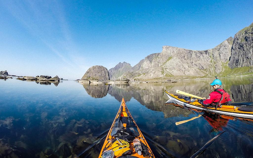 Po Norvegii na bajdarke 11 По Норвегии на байдарке