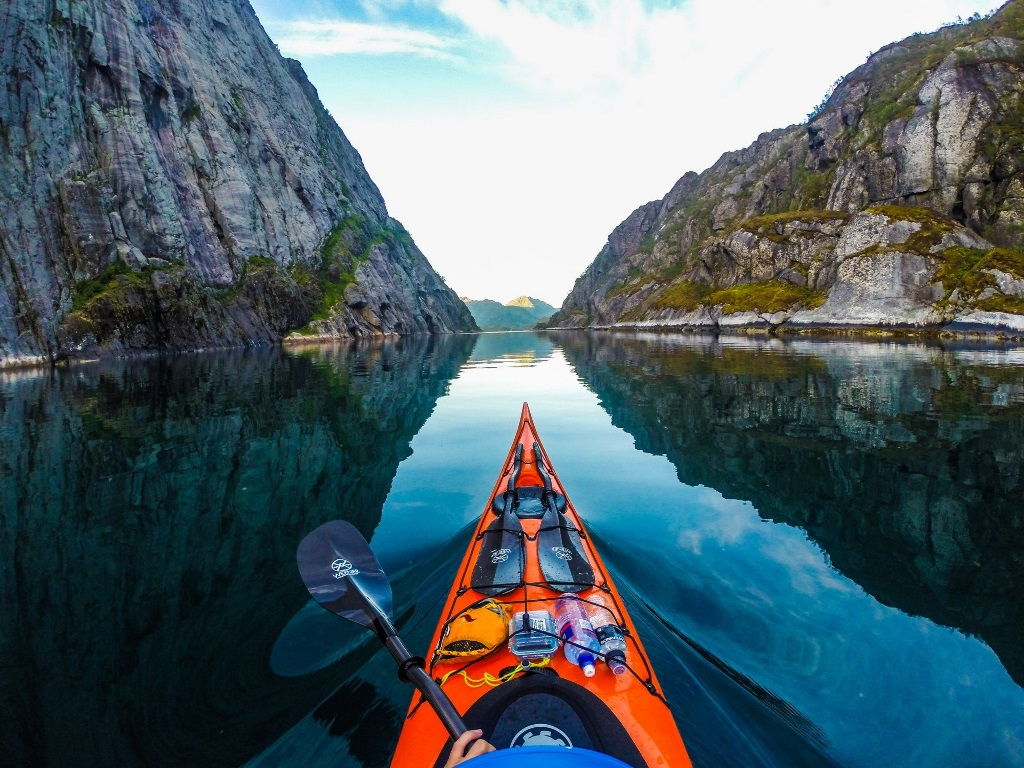 Po Norvegii na bajdarke 18 По Норвегии на байдарке